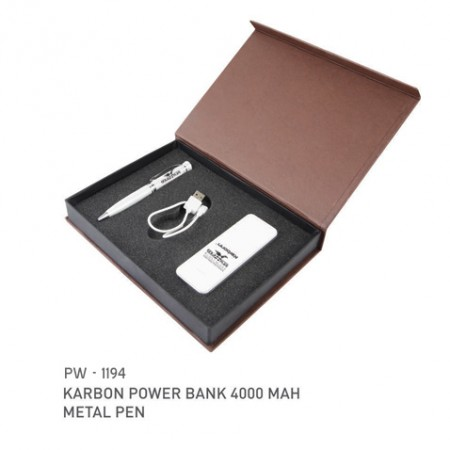Giftsuncommon - Gift Set Contains Pen And Power Bank