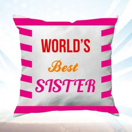 Giftsuncommon - Sister Printed Pink Cushion