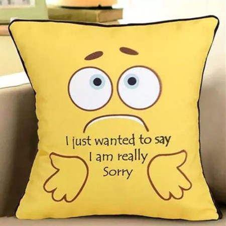 Giftsuncommon - Sorry Printed Cushion