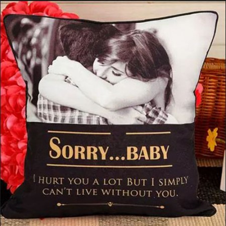 Giftsuncommon - Sorry Baby Printed Cushion