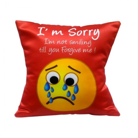 Giftsuncommon - Forgive Me Message Printed Cushion