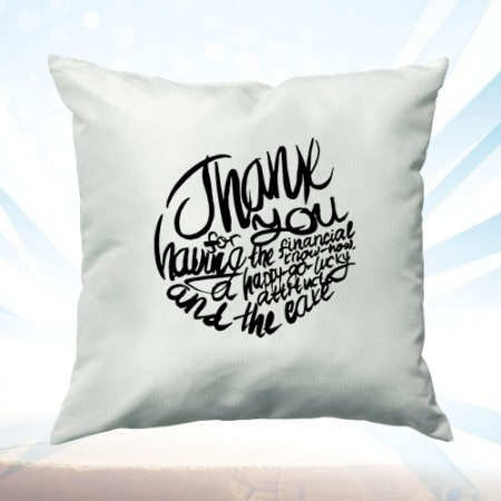 Giftsuncommon - Customized Thank You Cushion