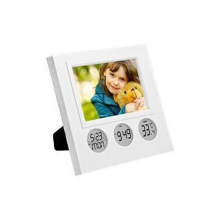 Giftsuncommon - Bubble Clock With Photo Frame