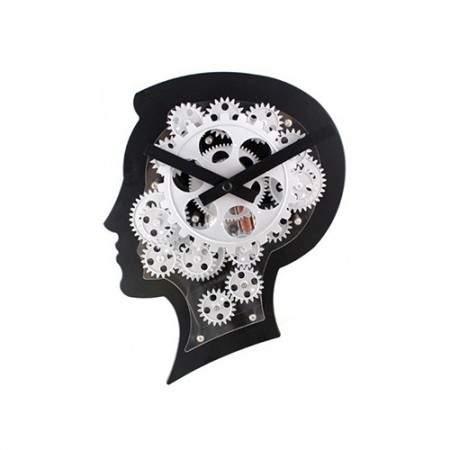 Giftsuncommon - Moving Gears Brain Style Clock