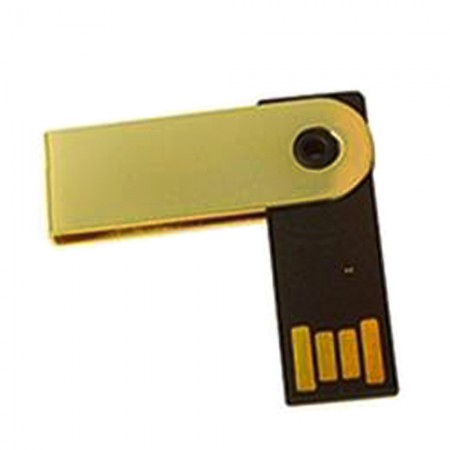 Giftsuncommon - Metal Swivel Pen Drive 4GB