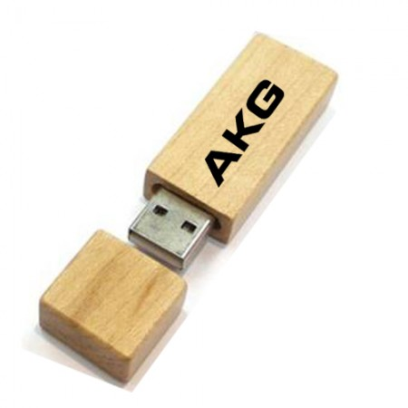 Giftsuncommon - Wood Rectangular Pen Drive 16GB
