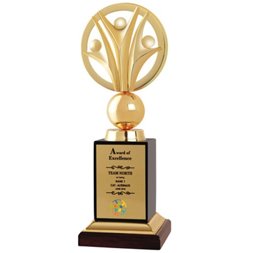 Giftsuncommon - Personalized  Teamwork Trophy