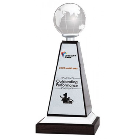 Giftsuncommon - Personalized Globe Trophy