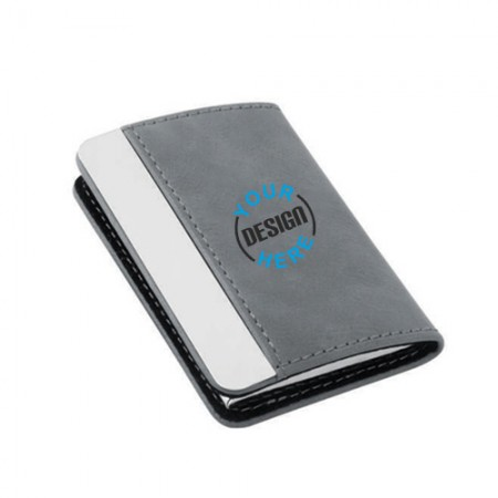 Giftsuncommon - Grey Color Business Card Case