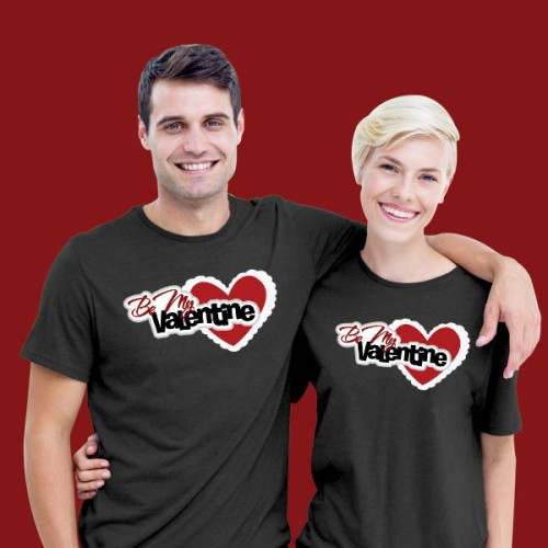 Giftsuncommon - Customized Valentines Day Couple T Shirt