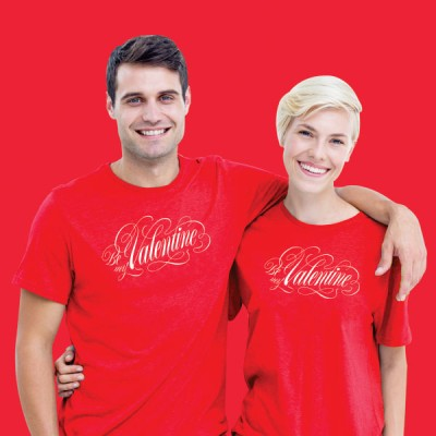 Giftsuncommon - Valentine Printed Couple T Shirt