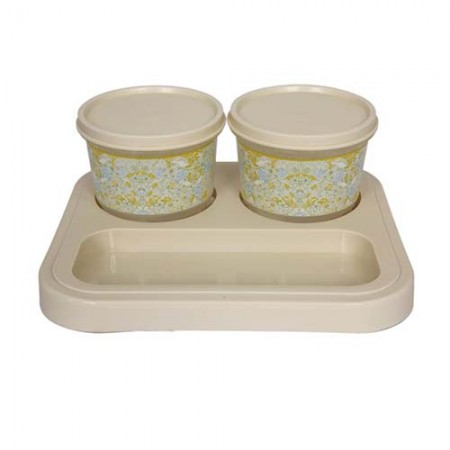 Giftsuncommon - 2 Bowl Serving Tray Set