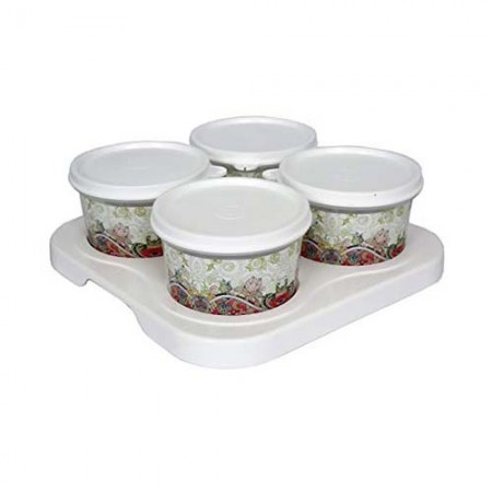 Giftsuncommon - 4 Bowl Serving Tray Set