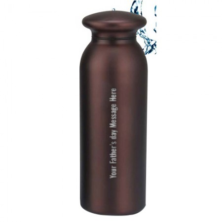 Giftsuncommon - Fathers Day Message Engraved Flask