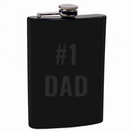Giftsuncommon - Engraved Fathers Day Hip Flask