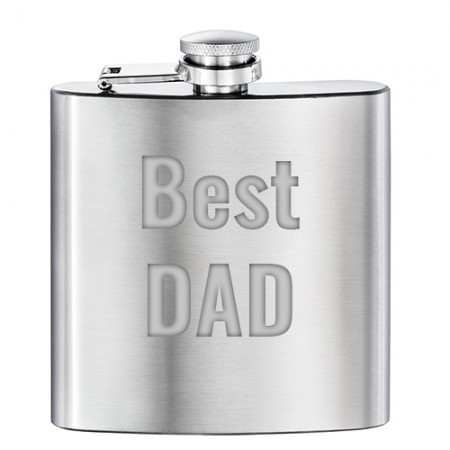 Giftsuncommon - Personalized Fathers Day Hip Flask