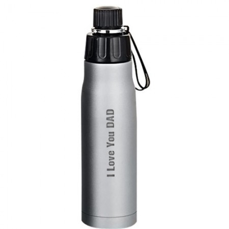 Giftsuncommon - I Love You Dad Engraved Flask Bottle