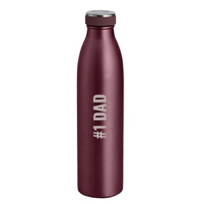 Giftsuncommon - #1 Dad Engraved Flask Bottle