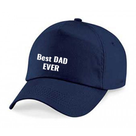 Giftsuncommon - Best Dad Ever Printed Fathers Day Cap