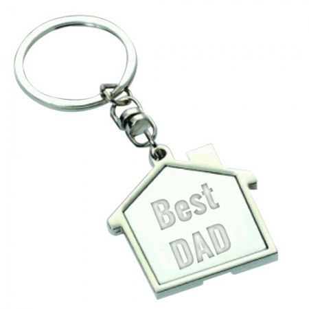 Giftsuncommon - Best Dad Fathers Day Engraved Keychain