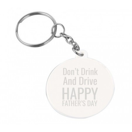 Giftsuncommon - Don't Drink And Drive Engraved Keychain