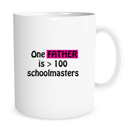 Giftsuncommon - Father Greater Master Printed Fathers Day Mug