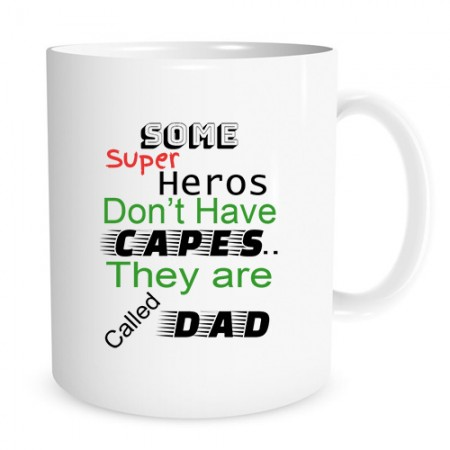 Giftsuncommon - Superhero Dad Printed Fathers Day Mug