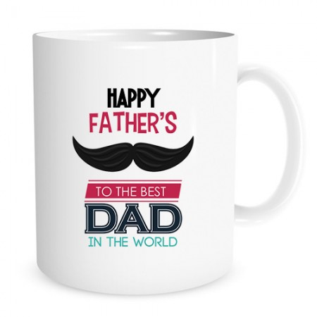 Giftsuncommon - To Best Dad Printed Fathers Day Mug