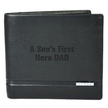 Giftsuncommon - Sons First Hero Dad Engraved Wallet