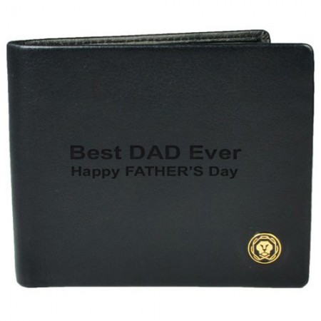 Giftsuncommon - Best Dad Engraved Wallet