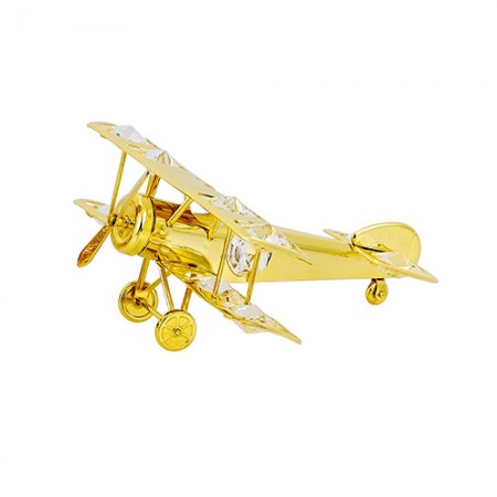 Giftsuncommon - Aeroplane Gold Plated