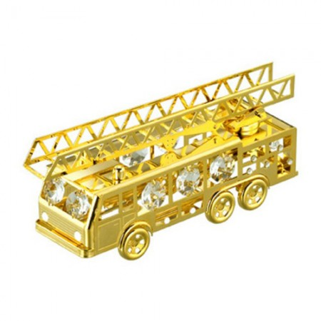 Giftsuncommon - Gold Plated Fire Engine