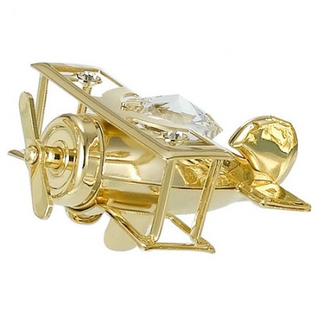 Giftsuncommon - Small Gold Plated Aeroplane