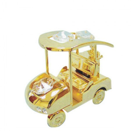 Giftsuncommon - Gold Plated Golf Cart