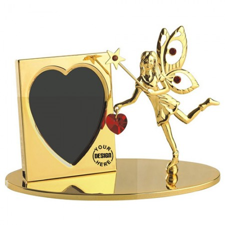 Giftsuncommon - Gold Plated Fairy Photo Frame