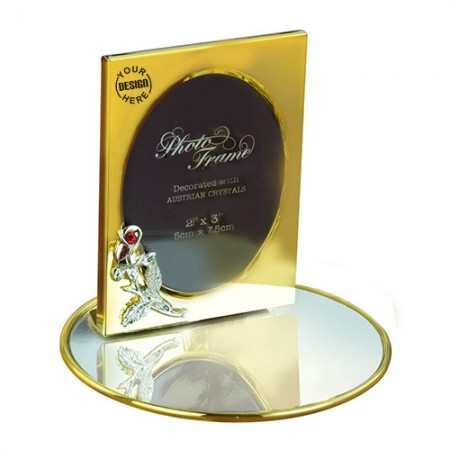 Giftsuncommon - Gold Plated Photo Frame