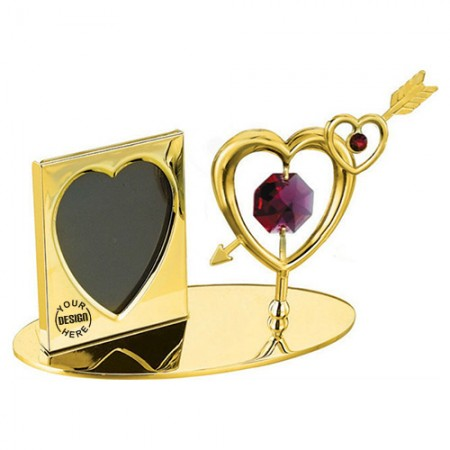Giftsuncommon - Double Heart Arrow Photo Frame