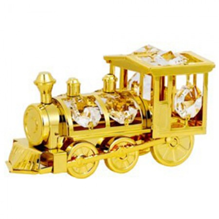 Giftsuncommon - Gold Plated Railway Engine