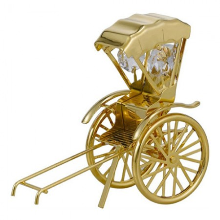 Giftsuncommon - Gold Plated Rickshaw