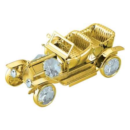 Giftsuncommon - Gold Plated Vintage Car Four Seater