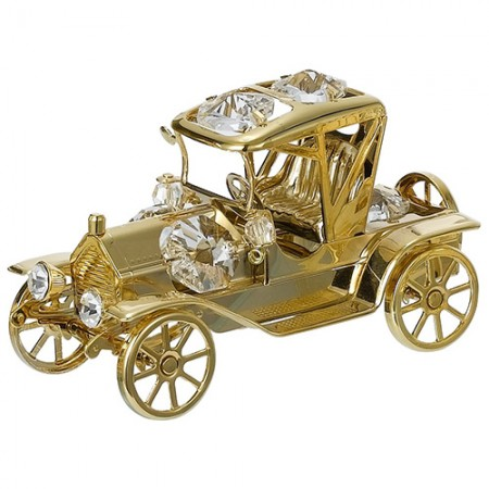 Giftsuncommon - Premium Gold Plated Vintage Car