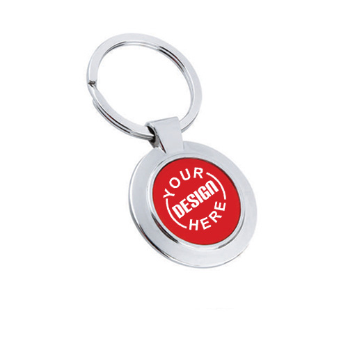 Giftsuncommon - Metal Key Chain Red