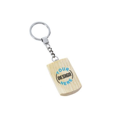 Giftsuncommon - Wooden Key Chain