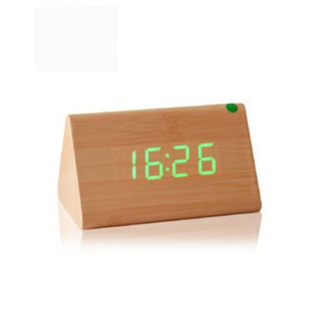 Giftsuncommon - LED Wooden Clock