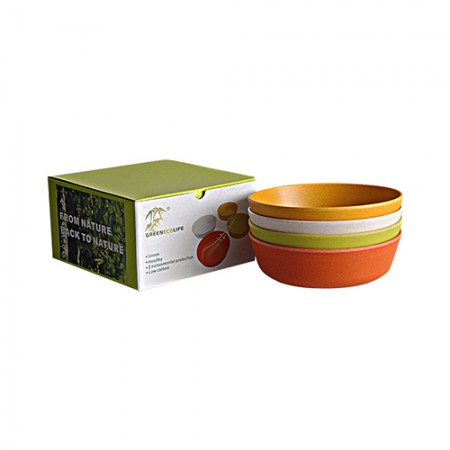 Giftsuncommon - Eco friendly Bowl Set 4