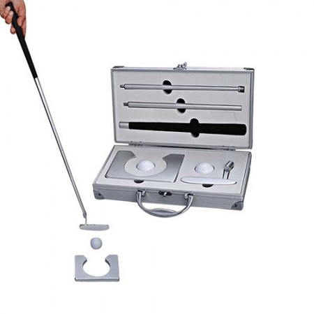 Giftsuncommon - Indoor Golf Kit In A Metal Case