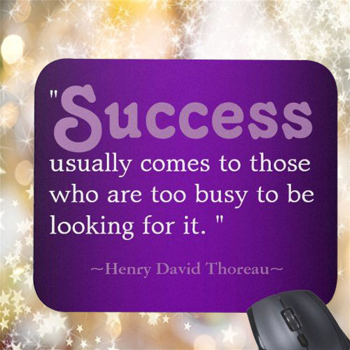 Giftsuncommon - Success Quote Printed Mousepad