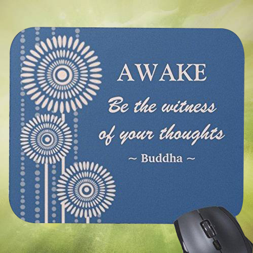Giftsuncommon - Awake Quote Printed Mousepad