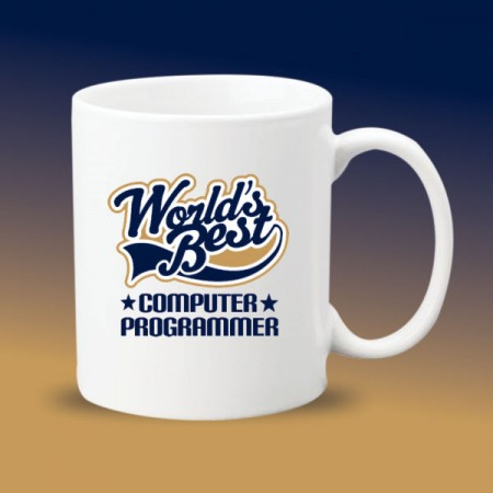 Giftsuncommon - Worlds Best Programmer Printed Mugs