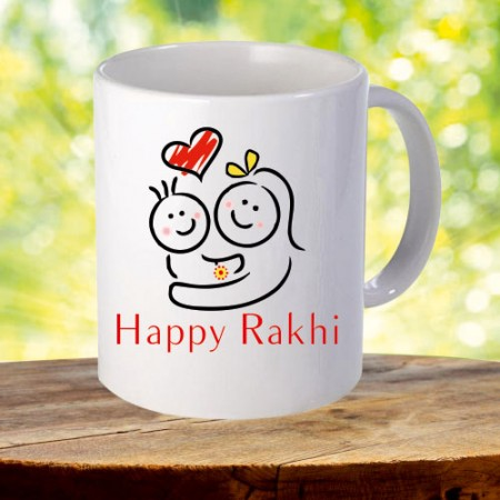 Giftsuncommon - Happy Rakhi Printed Mug